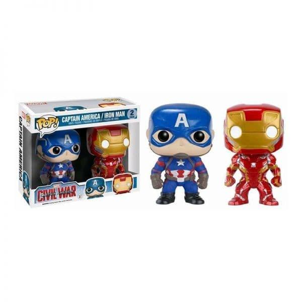 harga Funko pop captain america - civil war - captain america & iron man Tokopedia.com