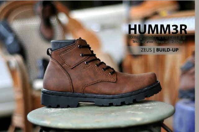 Jual Sepatu boot pria Hummer Zeus original Coklat - Etalase Sepatu ... 71e6f802cc