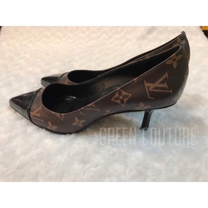 3d002da3fe50 Jual LOUIS VUITTON HEELS - green couture