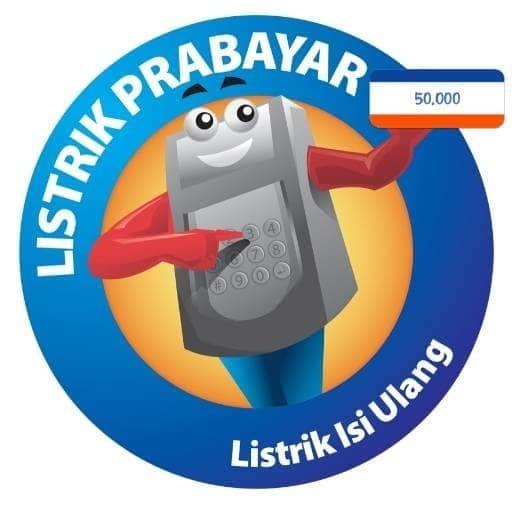 harga Token pln voucher listrik prabayar 50.000 murah non admin promo Tokopedia.com