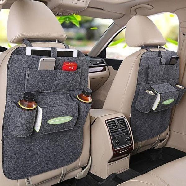 Car Seat Organizer Tas Mobil Multifungsi Belakang Jok Tissue HP Payung. Ulasan. Transaksi Sukses