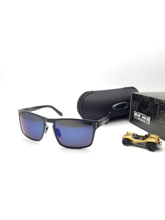 809bd1ea6a8 ... harga Kacamata oakley holbrook titanium black blue kacamata polarized  murah Tokopedia.com