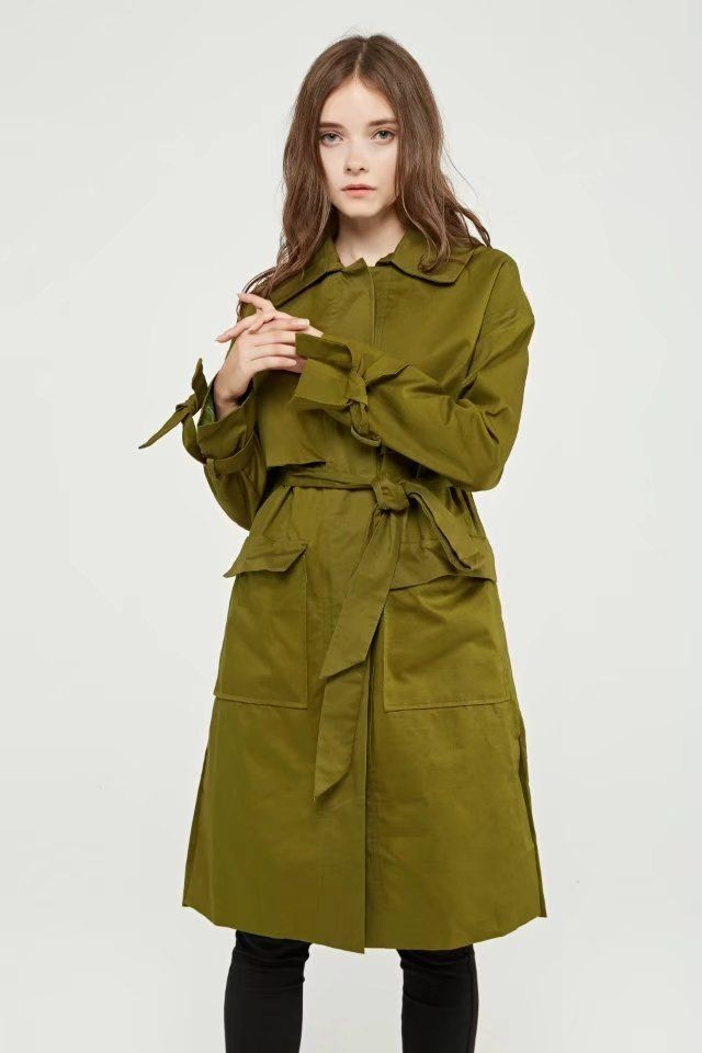 harga Mantel jas coat wanita import green winter casual (size m) 317464 Tokopedia.com