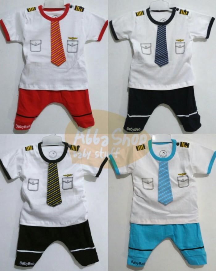 harga 9-18bln setelan bayi anak laki-laki cowok lucu keren beb pilot Tokopedia.com