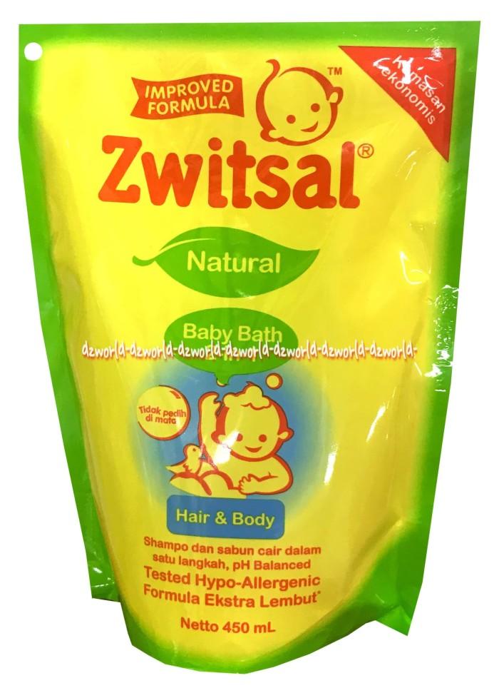 harga Zwitsal baby baby bath hair & body 2-1 sabun dan shampoo bayi 450ml Tokopedia.com