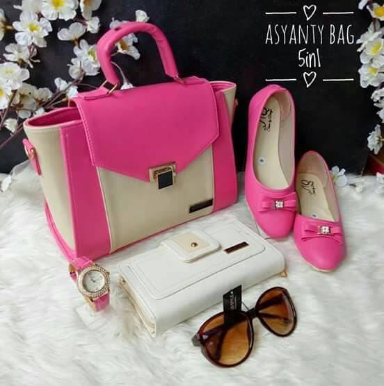 62803796b99 Jual paket set tas 5in 1 flatshoes - Kab. Cirebon - cool modis ...