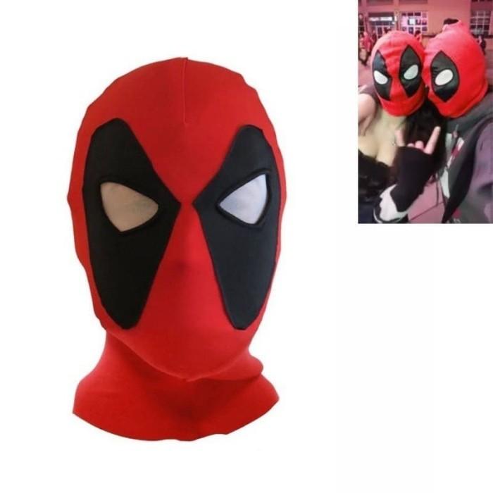 harga Topeng deadpool premium, deadpool, mask deadpool. cosplay deadpool Tokopedia.com