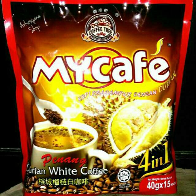 Jual Penang Durian White Coffee Mycafe Kab Bengkalis Makanan Malaysia Tokopedia