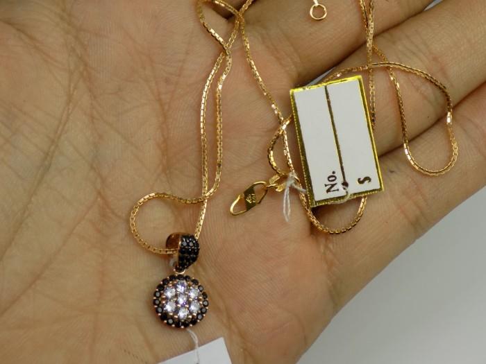 harga Kalung liontin italy santa emas kuning 70% gold original Tokopedia.com