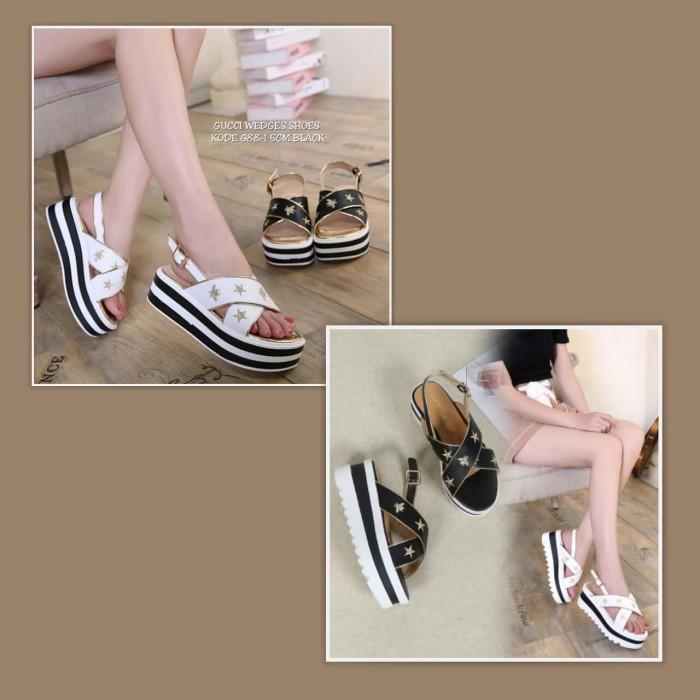 Sepatu Wanita Wedges Shoes Gucci - Daftar Harga Terkini Indonesia bb9a19716b