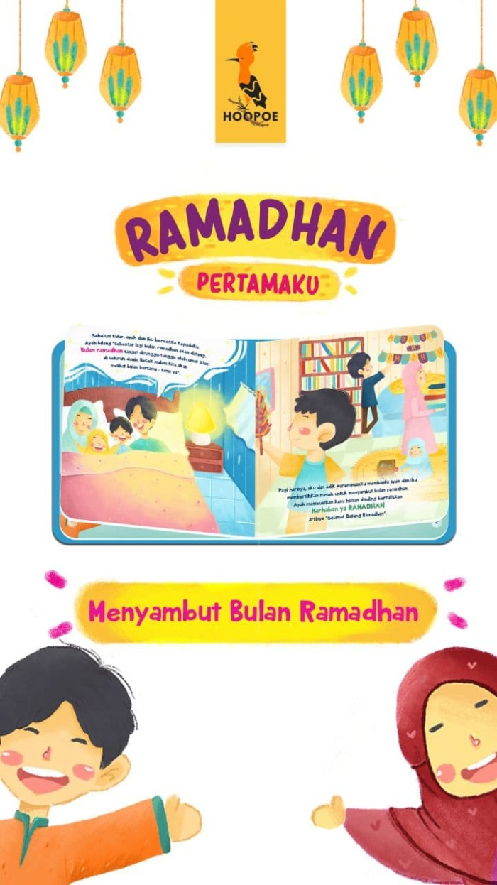 Jual Buku Anak Islami RAMADHAN PERTAMAKU Kota Semarang AGNI OLSHOP