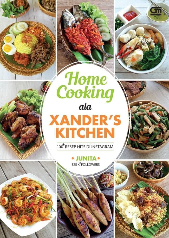 harga Buku xander kitchens : home cooking  resep hits ala xander's kitchen Tokopedia.com