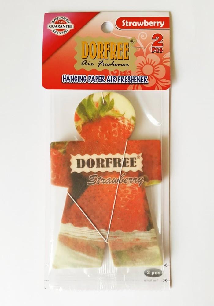 Dorfree Air Freshener / Parfum Pengharum Mobil Hanging Paper isi 2