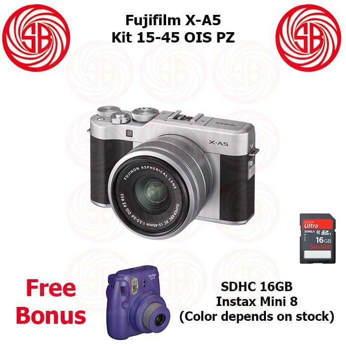 Jual Kamera Fujifilm X A5 15 45 Mirrorless Xa 5 Xa5 Camera Fuji Xa 5 Kota Surabaya Sumber Bahagia Digital Tokopedia