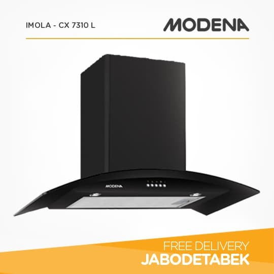 harga Chimney Hood MODENA 70Cm IMOLA - CX 7310 L (black) Tokopedia.com