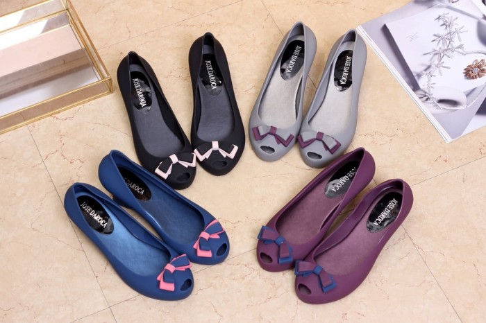 harga # 388f # wedges shoes jose daroca jelly Tokopedia.com