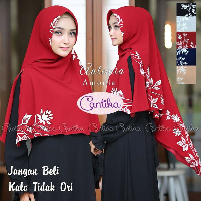 harga Khimar antemia sofi.jilbab cantika.kerudung syari belah.hijab instan Tokopedia.com