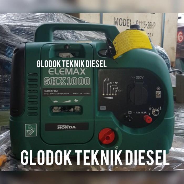 harga Elemax honda portable generators genset inverter shx 1000 1 kva ori Tokopedia.com