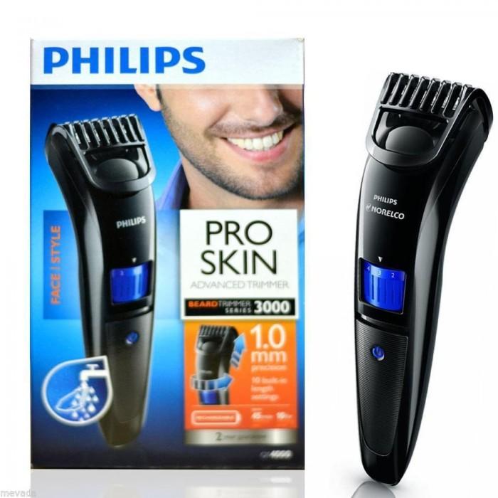 harga Philips qt4000 pro skin advanced trimmer alat cukur rambut kumis Tokopedia.com