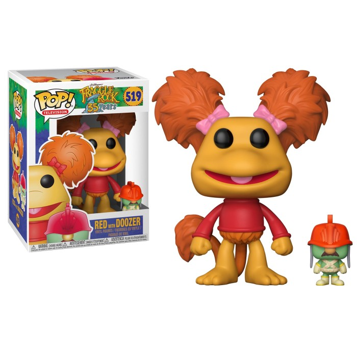 Funko pop! tv: fraggle rock - red with doozer 519