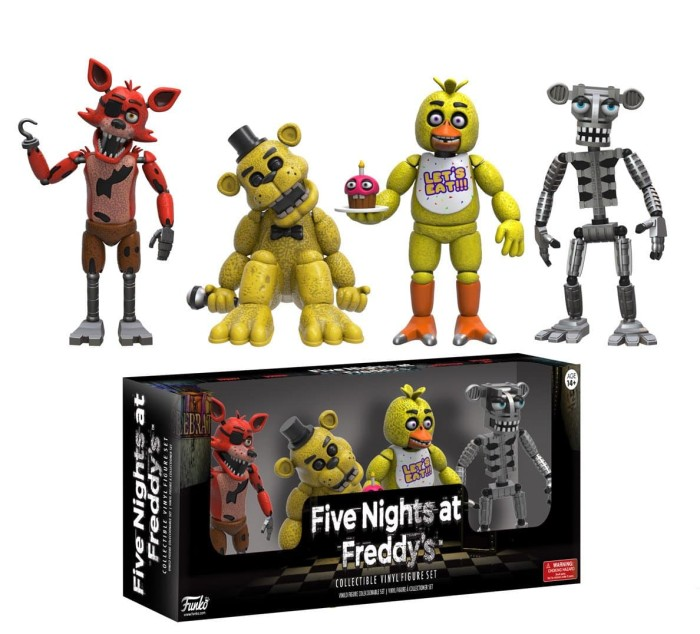 Funko figures: five nights at freddy's: four pack 2  figures - pack 1