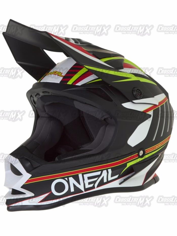 BEST SELLER Helm Cross Oneal 7 Series Evo CHASER White HELMET O NEAL 1