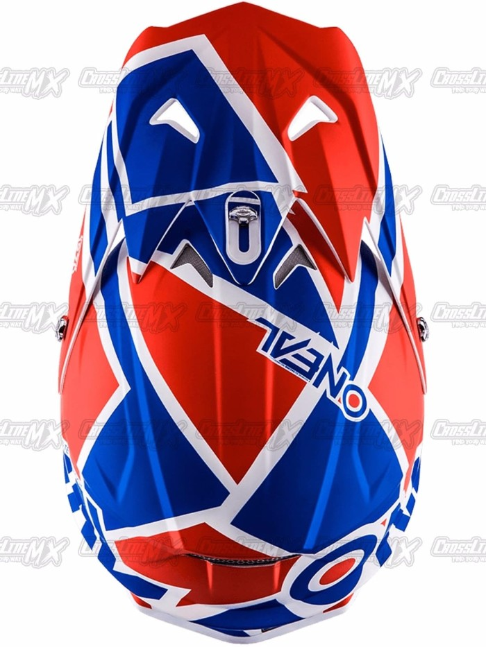 BEST SELLER Helm Cross Oneal 3 Series RADIUM Red Blue White HELMET O 3