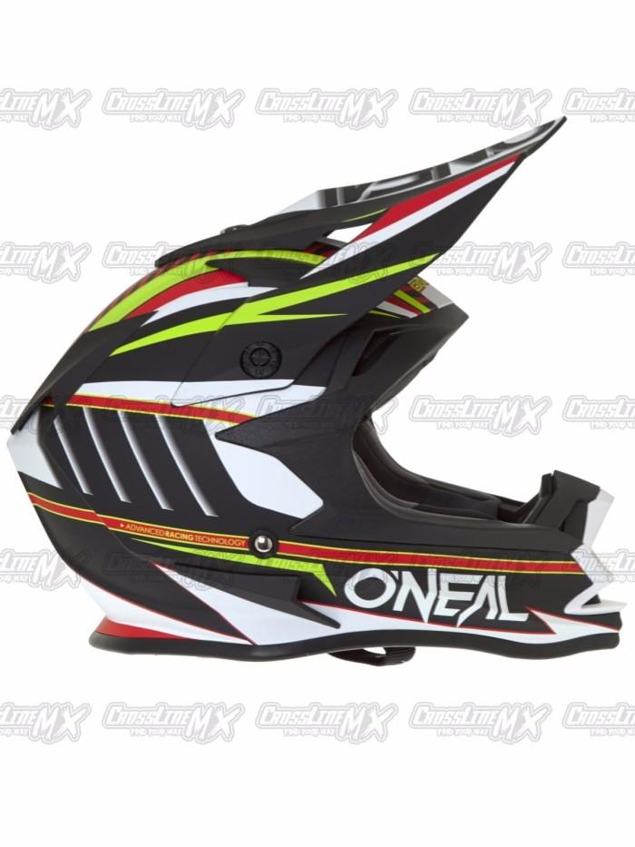 BEST SELLER Helm Cross Oneal 7 Series Evo CHASER White HELMET O NEAL 2