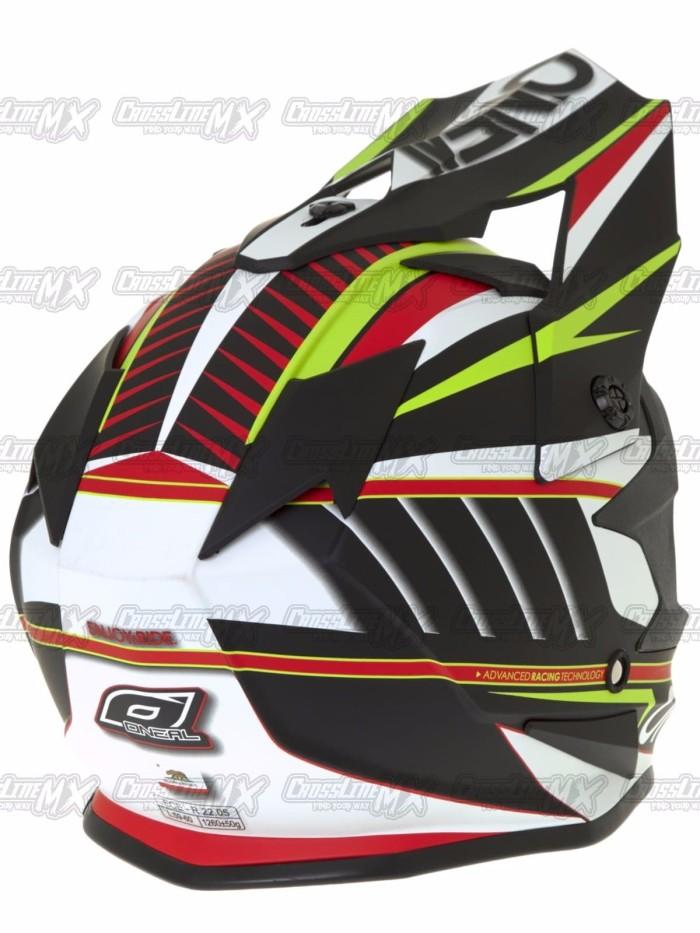 BEST SELLER Helm Cross Oneal 7 Series Evo CHASER White HELMET O NEAL 3