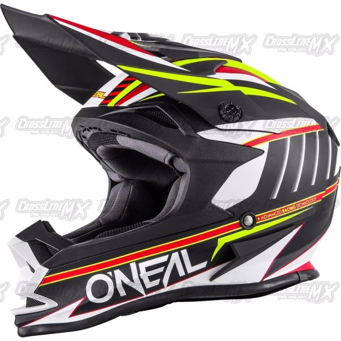BEST SELLER Helm Cross Oneal 7 Series Evo CHASER White HELMET O NEAL 4