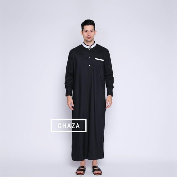 Jual Jubah Pria Arab Baju Gamis Pria Premium Keranjang Muslim
