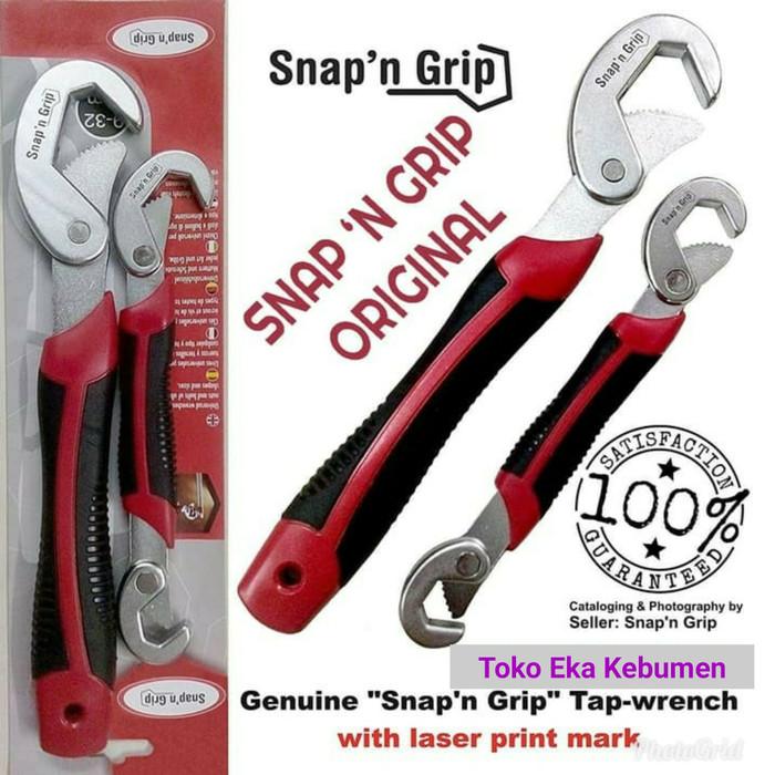 Info Snap N Grip Asli Hargano.com