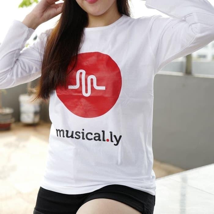 harga Baju kaos lengan panjang musically tumblr tee untuk cewe t-shirt cotto Tokopedia.com