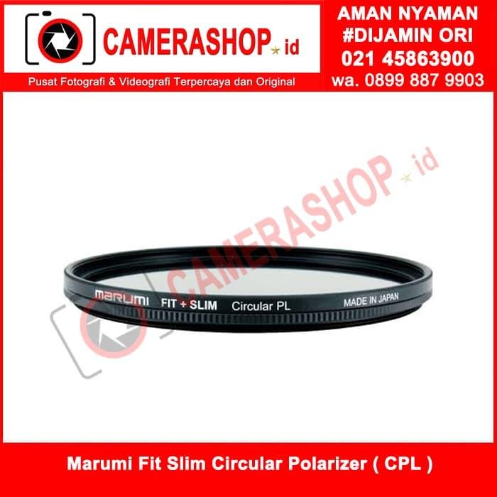 harga Marumi fit slim circular polarizer ( cpl ) 55mm ( made in japan ) Tokopedia.com