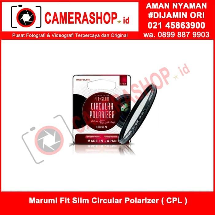 harga Marumi fit slim circular polarizer ( cpl ) 77 mm ( made in japan ) Tokopedia.com