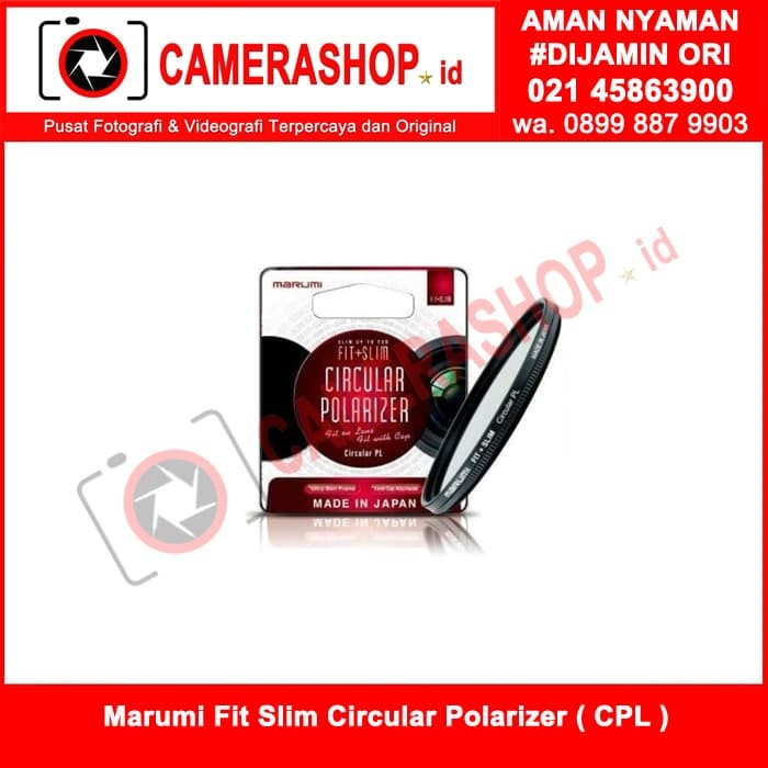 harga Marumi fit & slim cilcular polarizer (cpl ) 82 mm ( made in japan ) Tokopedia.com