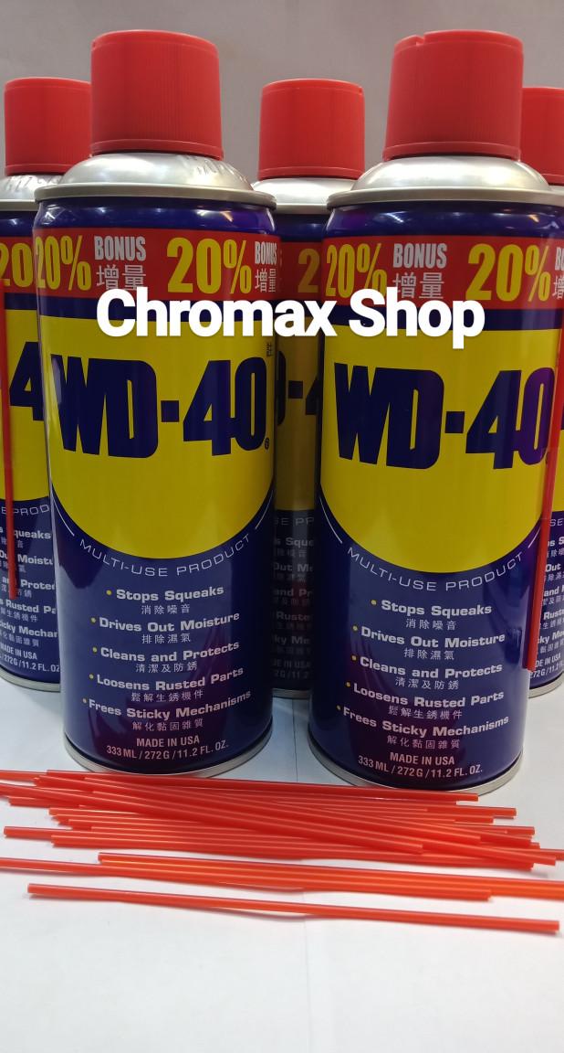 Foto Produk Wd40 333 ml /wd40 333ml /WD40 333 ml /WD40 333 ml dari Chromax Shop