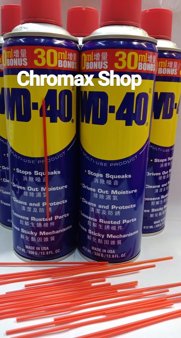 Foto Produk Wd40 412 ml /wd40 412ml/ WD40 412ml/ Wd40 412ml dari Chromax Shop