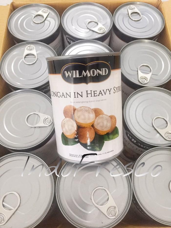 harga Wilmond longan canned- buah kelengkeng kaleng- 1dus khusus gosend Tokopedia.com