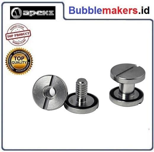 harga Apeks stainless steel book screws Tokopedia.com