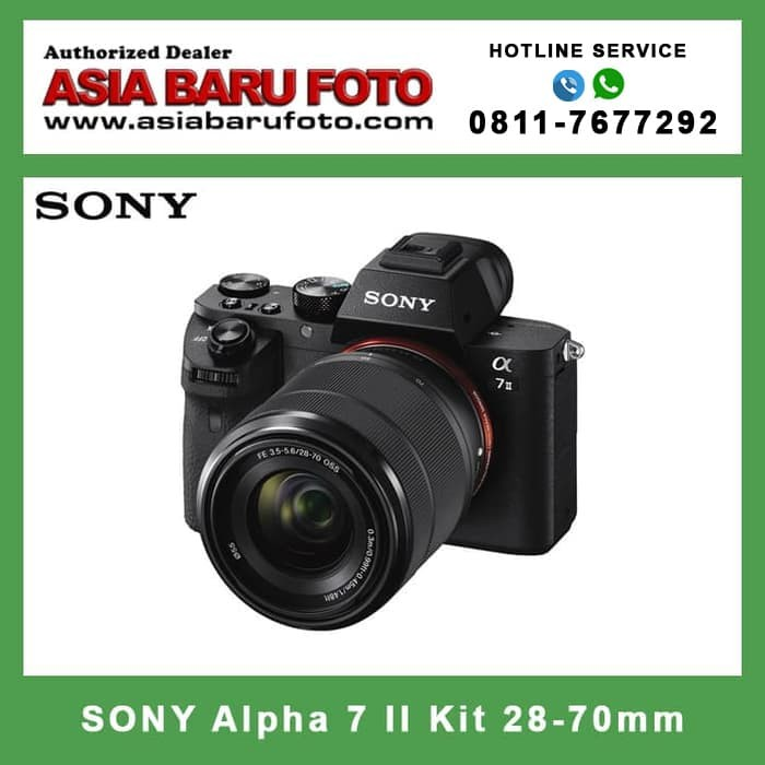 harga Sony alpha 7 ii kit 28-70mm special package Tokopedia.com