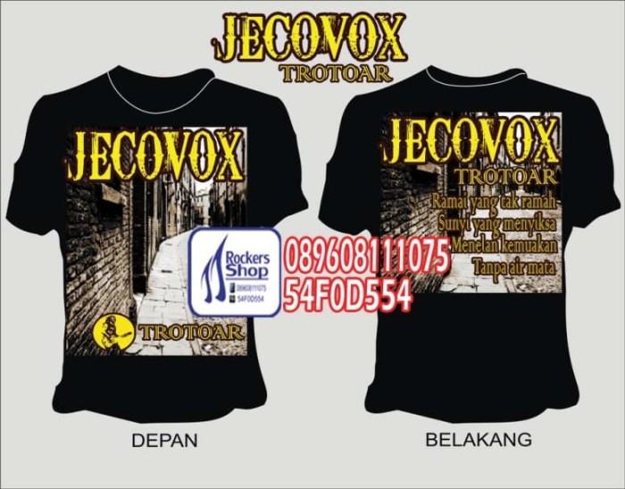 harga Kaos jecovox trotoar roy jeconiah boomerang Tokopedia.com