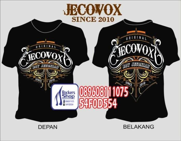 harga Kaos jecovox since 2010 roy jeconiah boomerang Tokopedia.com