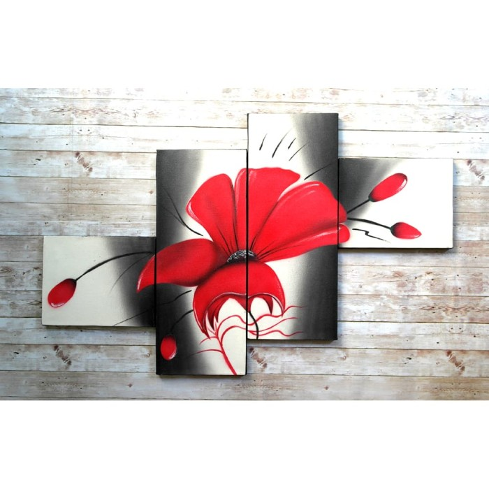harga Lukisan bunga minimalis rdfw Tokopedia.com