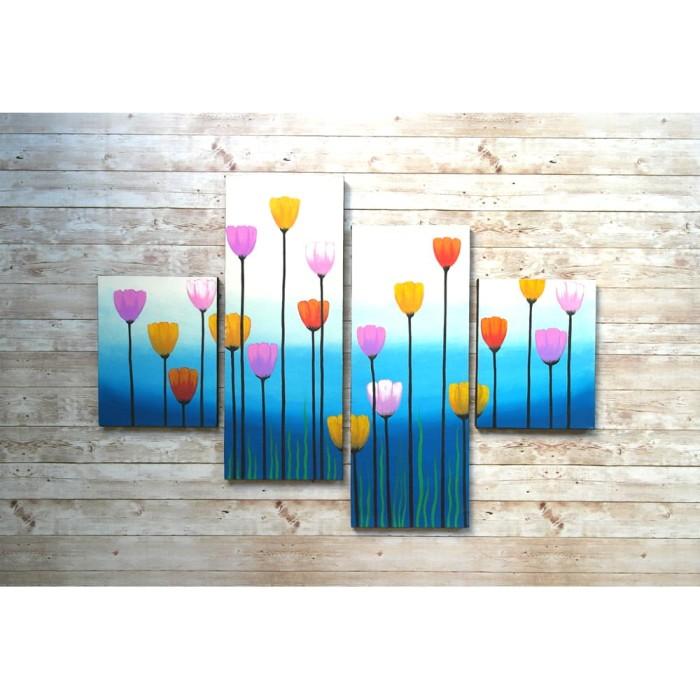 harga Lukisan bunga c4-cft Tokopedia.com
