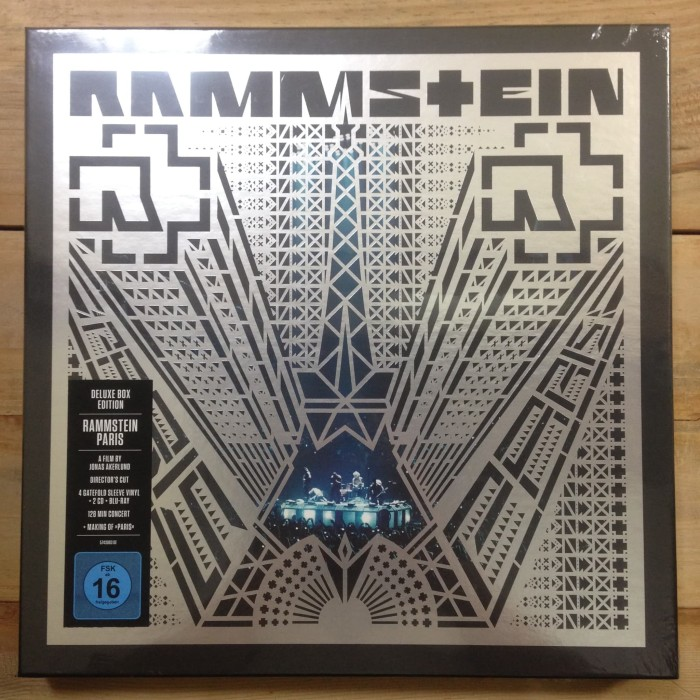 harga Vinyl rammstein ‎- paris boxset 4 x lp + 2 x cd + bluray Tokopedia.com