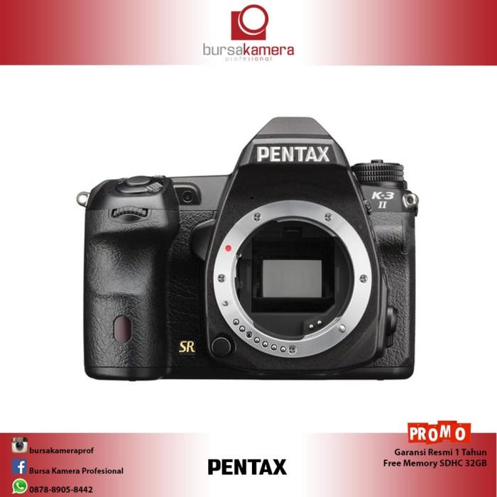 harga Pentax k-3 ii dslr camera (body only) Tokopedia.com