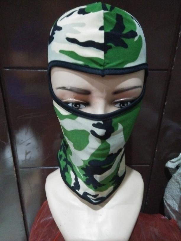 harga Balaclava/masker/skull cap alpinestar motif loreng army warna hijau .