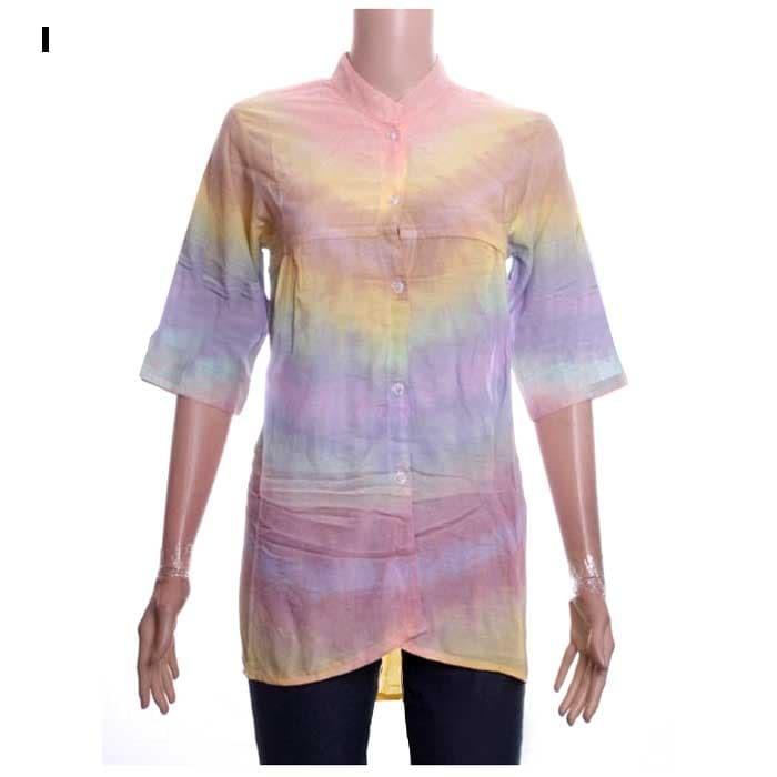 harga Blus batik tiedye rinuka Tokopedia.com