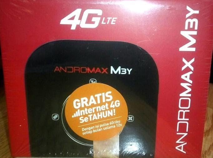 Mifi Smartfren Andromax M3Y 4G - Free Perdana Kuota 30Gb - Modem